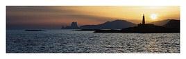 Illa D'Es Penjats ao Pôr-do-Sol
