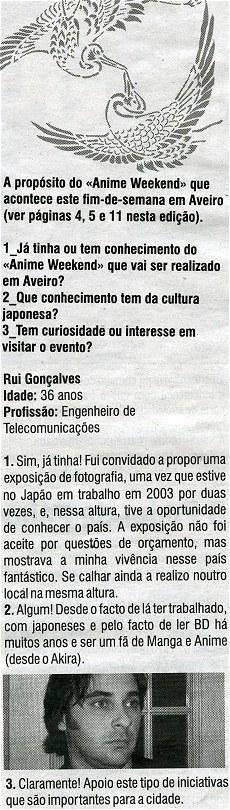 Diário de Aveiro - Clip - 16 de Fevereiro de 2006